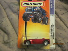 Matchbox car shelby cobra concept