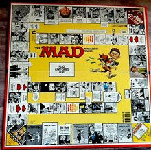 Mad magazine game board only