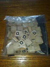 Complete set of wooden tiles new
