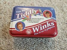 Tin box tiddly winks for 2 to 6