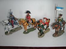 Napoleonic mounted 4 pieces lot 4
