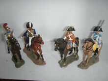 Napoleonic mounted 4 pieces lot 5