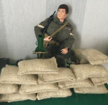 Action man army sand bags 5 in