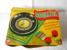 Early s toy roulette game by codeg
