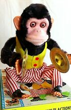 Musical jolly chimp cymbal clapping
