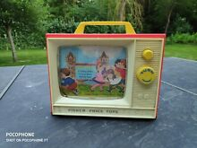 Fisher price toys annees 60 tv