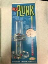 1967 ideal ker plunk marble game w