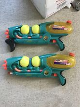 2x 1999 super soaker xp310 fully
