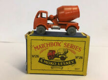 Lesney no 26 erf cement mixer boxed