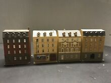 4 n scale european style townhouse