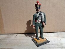 Or rose napoleonic french hussar