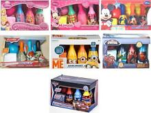 Disney kids 6 pin bowling set