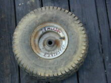 29 mower front tire wheel 15 x 6 00