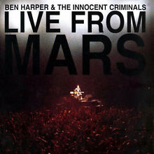 Ben live from mars 2 cd new sealed