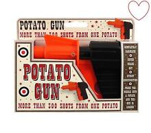 Potato toy stocking filler shooting
