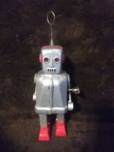 1950 s tin robot sparking wind up