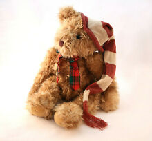 Co chestnut collectors teddy bear