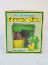 Supreme mixer battery operated