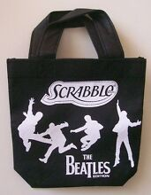 Beatles tile bag black pouch from