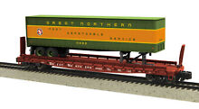 Mth great northern flat w trailer