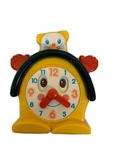 1988 baby toy musical clock alarm