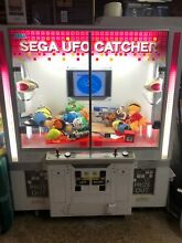Sega ufo catcher arcade machine tv