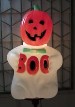 1993 lighted plastic blow mold boo