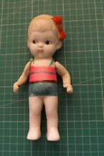 Doll japan bisque china 17cms high