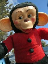 Rubber face plush monkey chimp 20