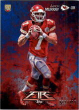 2014 topps fire blue kansas city