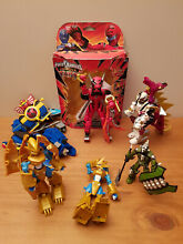 Lot de power rangers digimon mega
