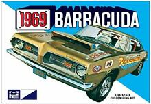 Platz 1 25 1969 plymouth barracuda