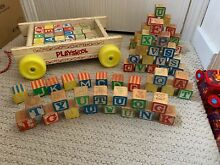 Collectible pull string wagon