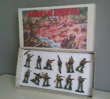Marines of infantry toy soldiers