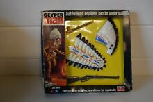 Action man indian chief carded