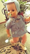 Baby doll unmarked 24 1960 s comes
