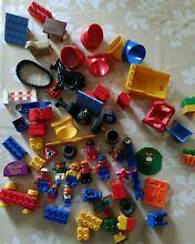 Lego pieces and figures 1kg