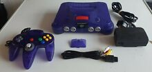 N64 funtastic grape purple limited