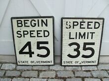 2 state of vermont speed limit s