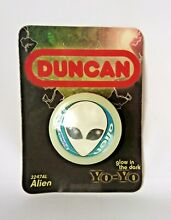 Duncan alien glow in the dark yoyo