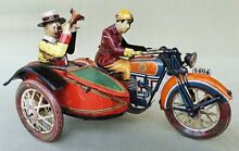 Tinplate tuf tuf 7 motorcycle and