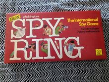 Spy ring game waddingtons from 1978