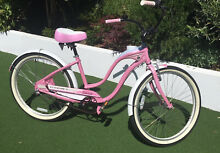 Cruiser bike pink ladies