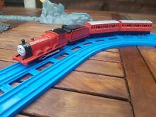 Trackmaster thomas james train and