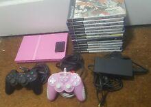 Pink playstation 2 slim console