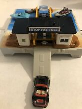 Travel city toll bridge cars and