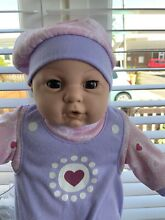 Soft body interactive baby doll