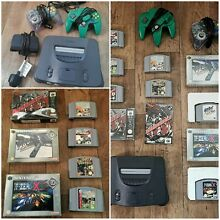 N64 console big bundle 7 games 2