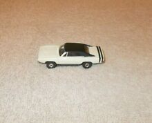 Tjet white dodge charger slot car