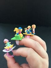 Polly pocket bluebird ring lot sets